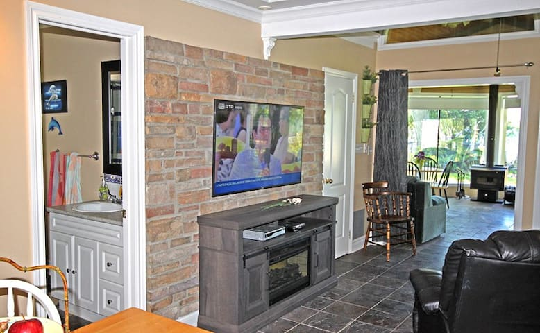 New 55 inch TV added for summer of 2019