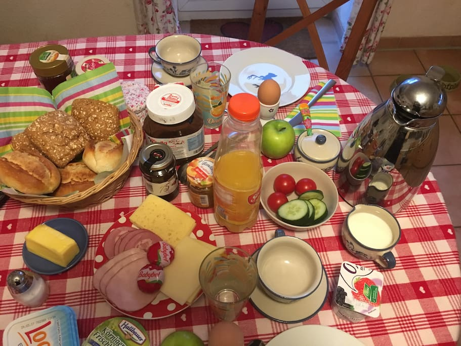 Frühstück inklusive