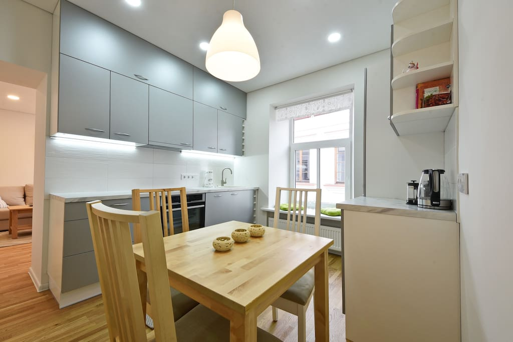 Cook at home in this brand new fully equipped kitchen