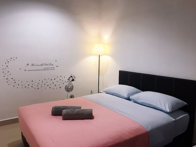 1BR cozy stylish CyberCity @Near Airport 一房式靠近机场民宿