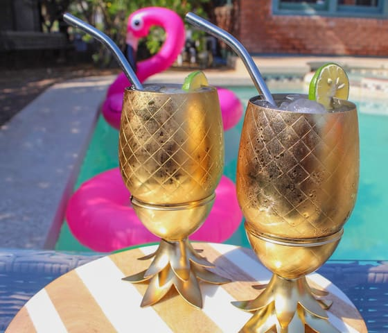 Enjoy drinks by the Pool!