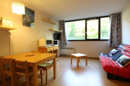 Studio with  alcove 4 people near pistes