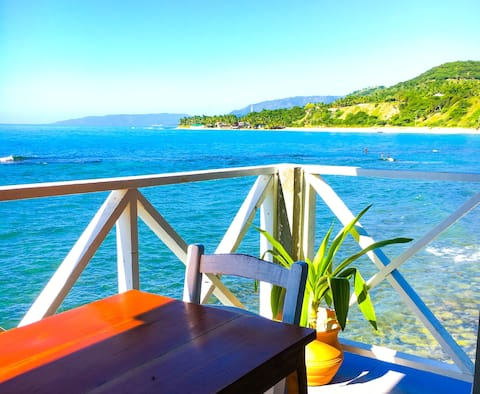 Ocean View from Private Balcony (#4), Jacmel