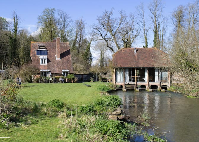 Romantic 17th Century Paper Mill on The Meon River