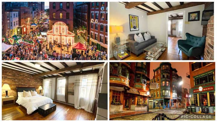 Little Italy Historic Suites- Freedom Trail H3