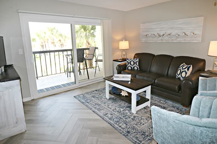 Gorgeous Remodeled Premium 2/2 Condo with Ocean Views on the Third Floor!  Ocean Village Club O32