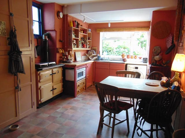 Rural retreat near Dorset ridgeway - Marshwood - House