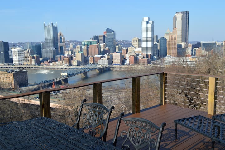 City Skyline & Close to Everything! - Pittsburgh - Apartemen