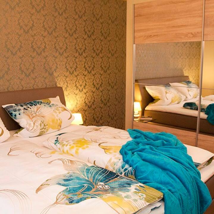 Ferienwohnungen Renner (Viereth-Trunstadt), Ferienwohnung 1 (80qm) mit separatem Schlafzimmer und kostenfreiem WLAN