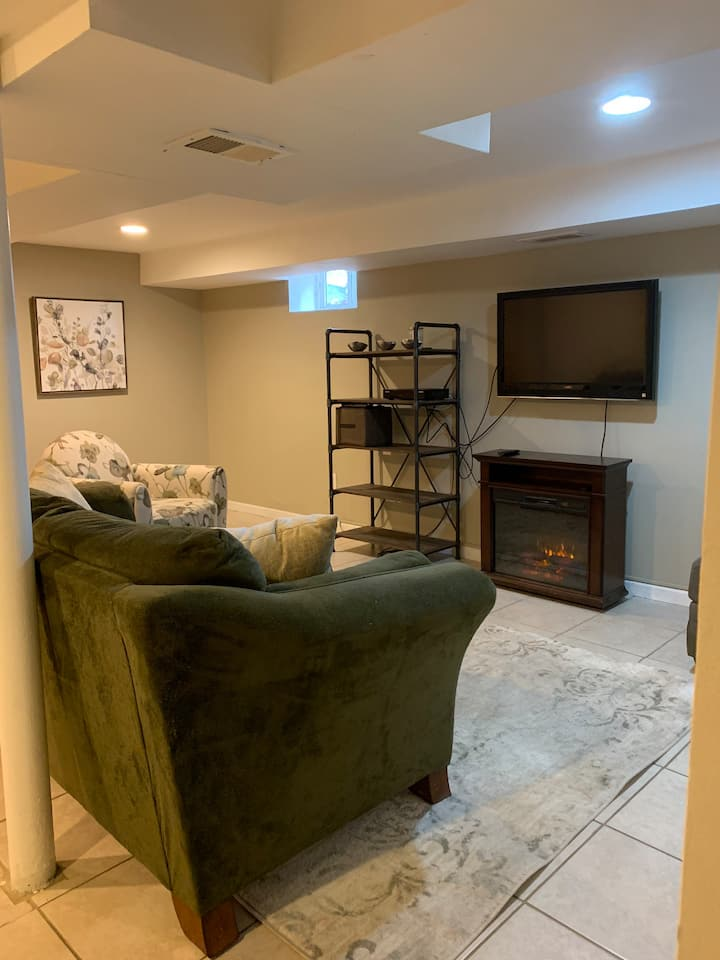 Comfortable, private space, 30 minutes from NYC