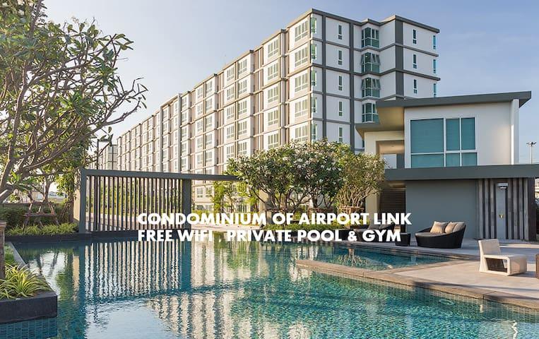 50%-Off per week D CONDO AIRPORT LINK [Free Wifi]