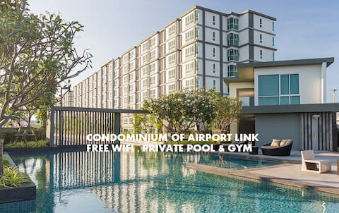30%-Off permonth  D CONDO AIRPORT LINK [Free Wifi]