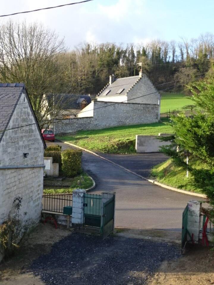 la petite maison dans la campagne