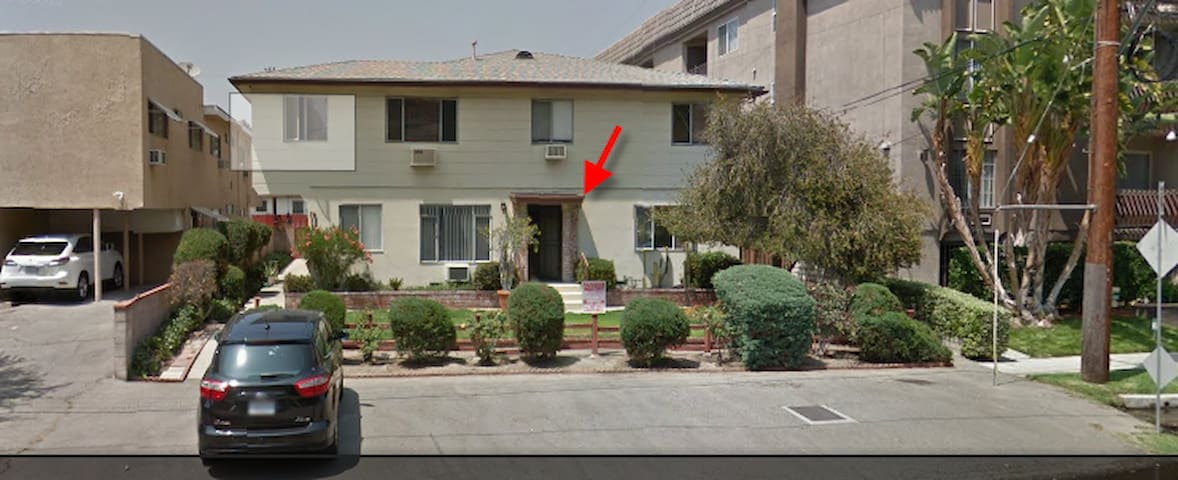 Close to Universal/Hollywood/DTLA/NoHo Metro Train - Los Angeles - Apartamento
