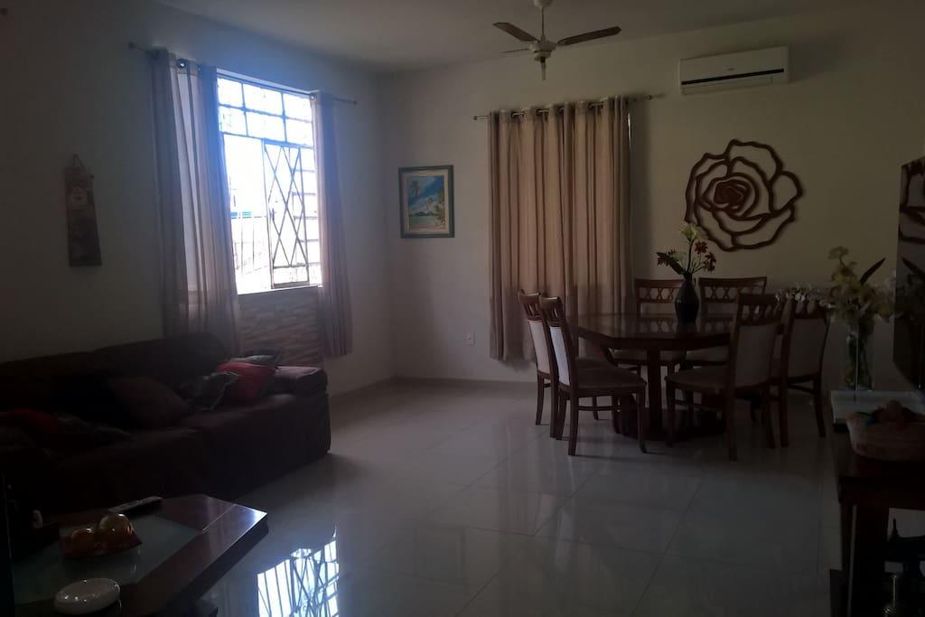 Sala de TV e sala de estar