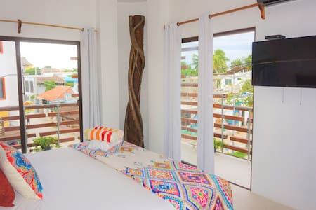 Awesome Room in the heart of #Holbox Hotel Mittoz