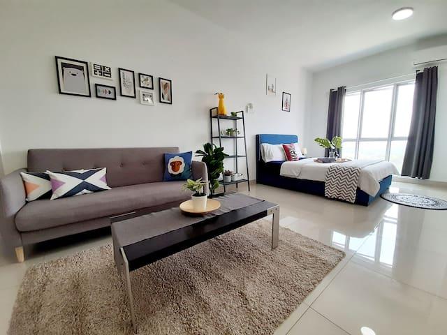 Brand new SOHO suite @ Seri Kembangan 100mbps wifi