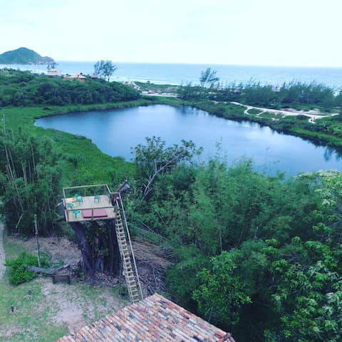 Loft Arvore - Praia do Rosa -  Coração da Terra