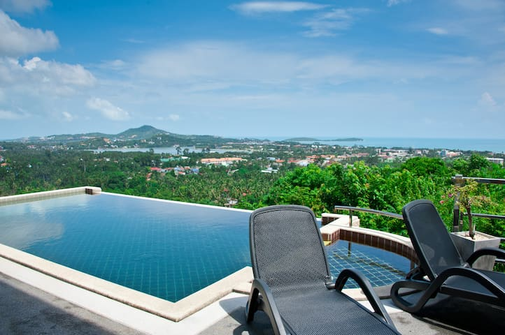 Seaview Private apartment 2BR pool - Surat Thani - Apartment