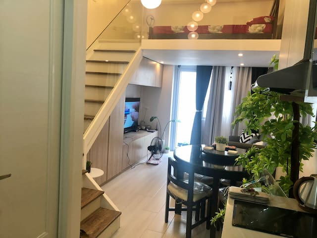 Entire Unit: Cozy Home in Qc w/ an European touch
