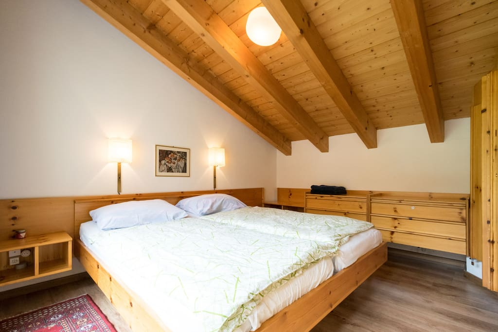 Master Bedroom: Wide angle view.