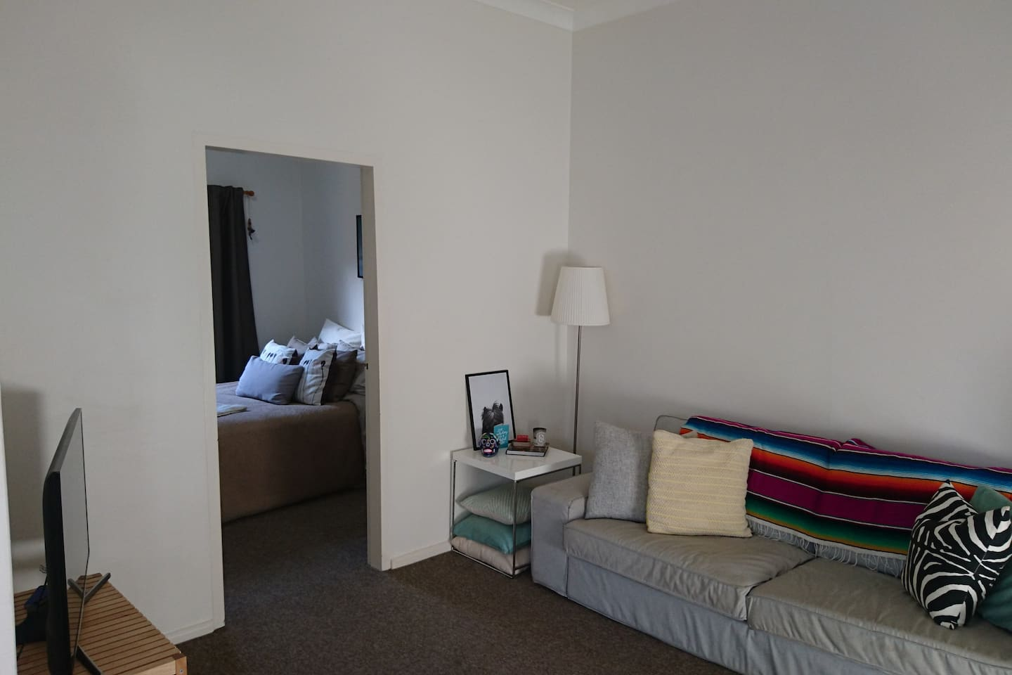 Light and newly renovated - minutes from the beach