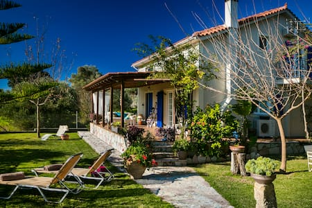 Cozy 3 bedroom garden Villa sleeps 6 - Kefallonia