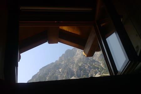 Stanza doppia in riserva naturale Val Alba CARNIA - Hus