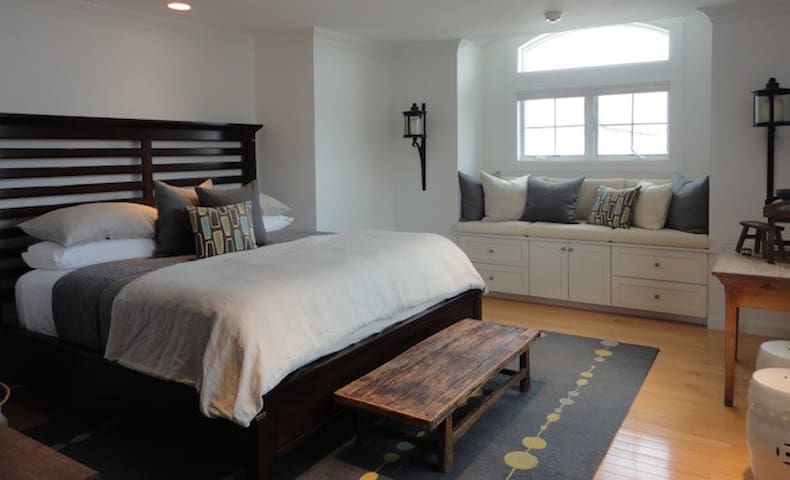 Luxurious Beach Home (Deckside Bedroom) - East Atlantic Beach - Daire