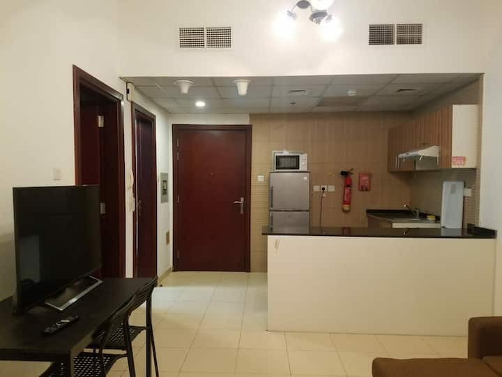 Full One Bedroom Hall with car parking