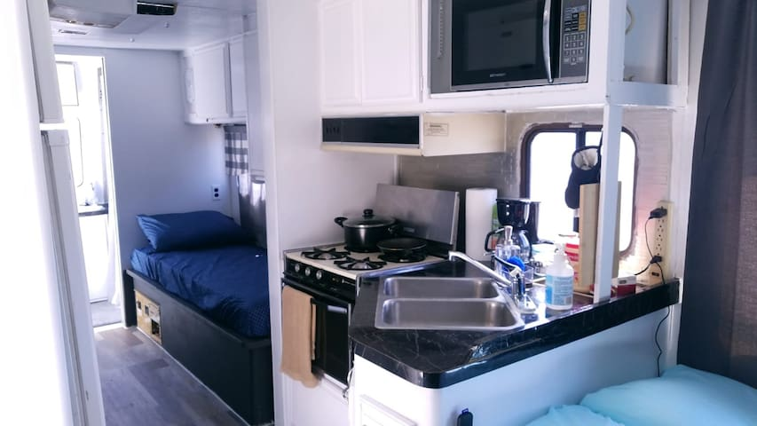 No place you rather be than in this RV