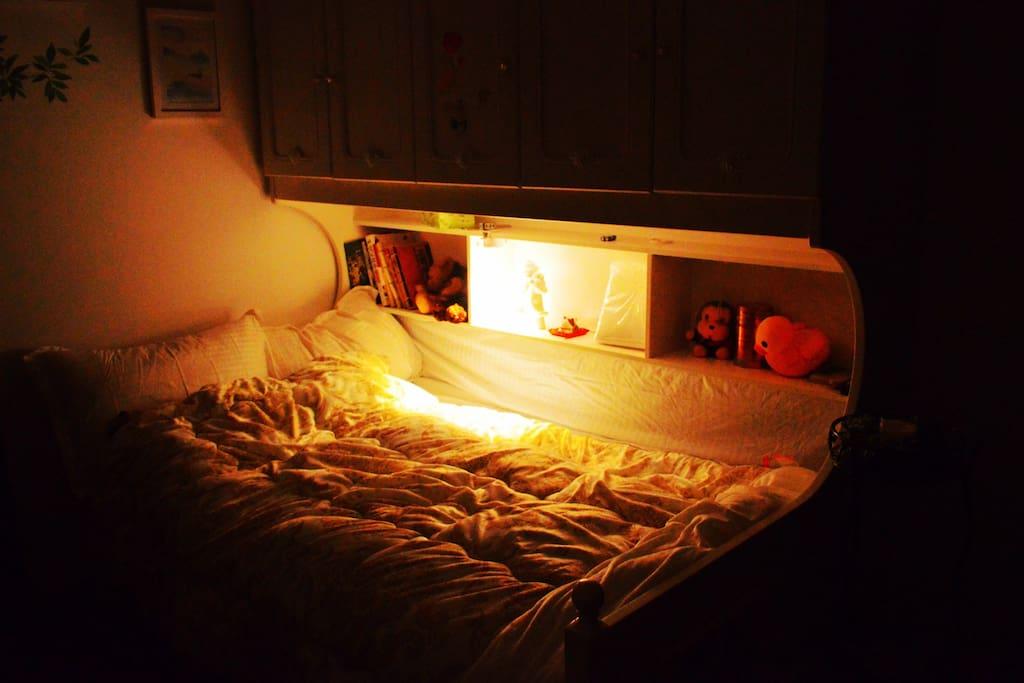 温馨记忆棉床垫