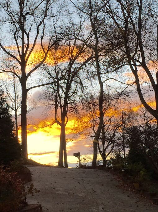 Sunrise in the Fall I took this November, 2015