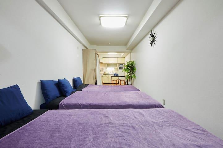 Priceoff H04 5min Tocho-ST Shinjuku ParkHyatt WIFI - Shinjuku-ku - Apartment