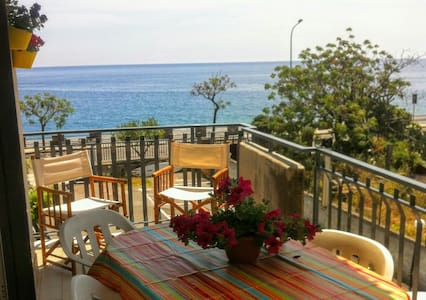 Sea View Mediterranean Apartment - Alì Terme