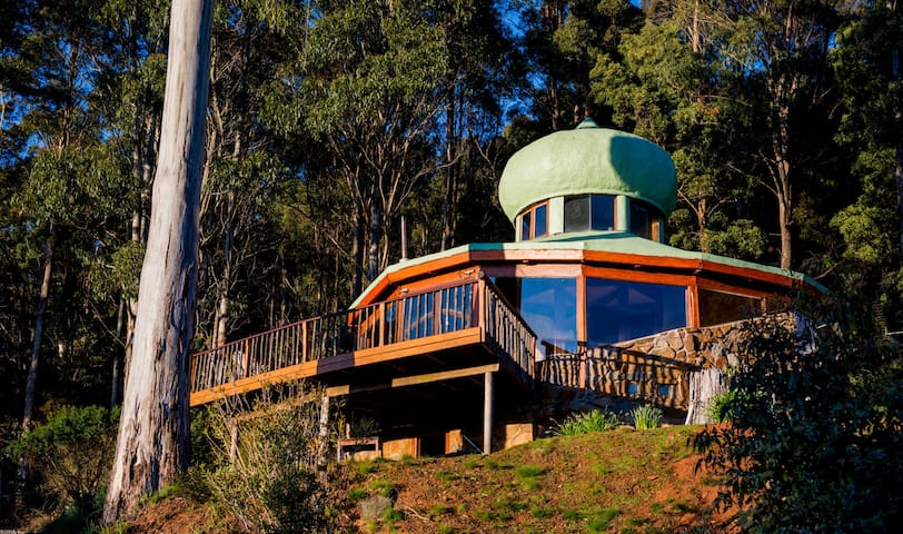 The Roundhouse : Rainforest & Mountains - Jackeys Marsh - Huis