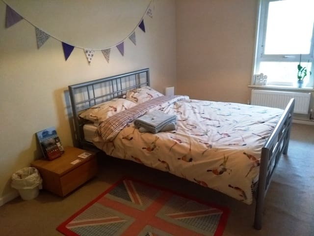 Large Double Room in a Warm and Bright House
