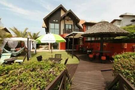 Casa compartilhada na Praia p/ Casal - Mariscal - 邦比尼亞斯(Bombinhas) - 獨棟