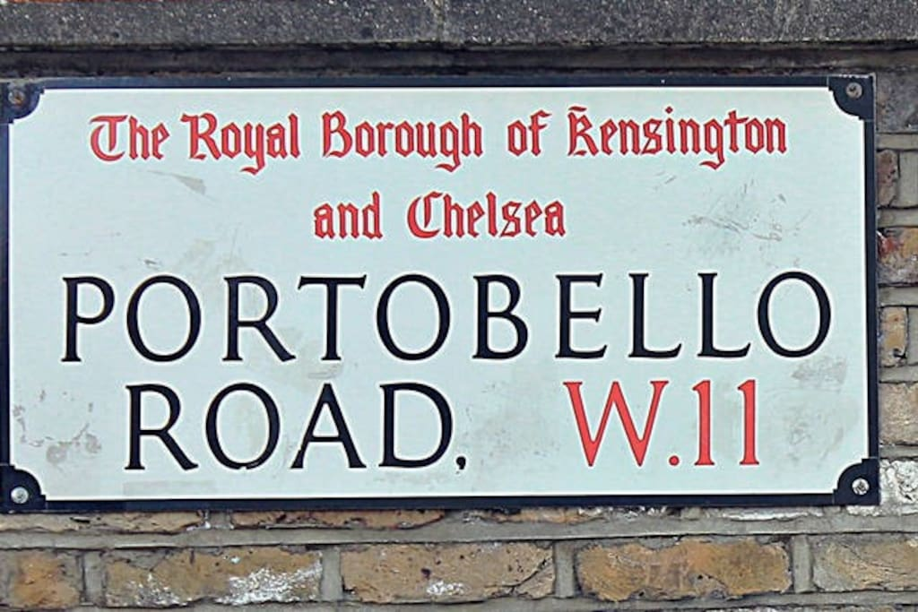 Portobello Market - 10min canal walk Since its opening in the 19th century, Portobello has become synonymous with London culture, even working its way into literary history, with the market being a favourite shopping destination for beloved childhood character Paddington Bear.