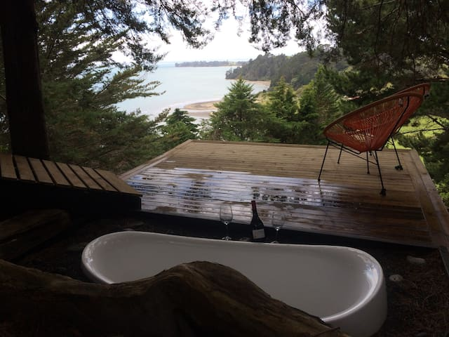 Relaxing Coastal Retreat - Awhitu Peninsula - Manukau Heads - Cabin