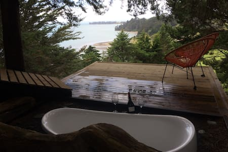 Relaxing Coastal Retreat - Awhitu Peninsula - Manukau Heads - Stuga