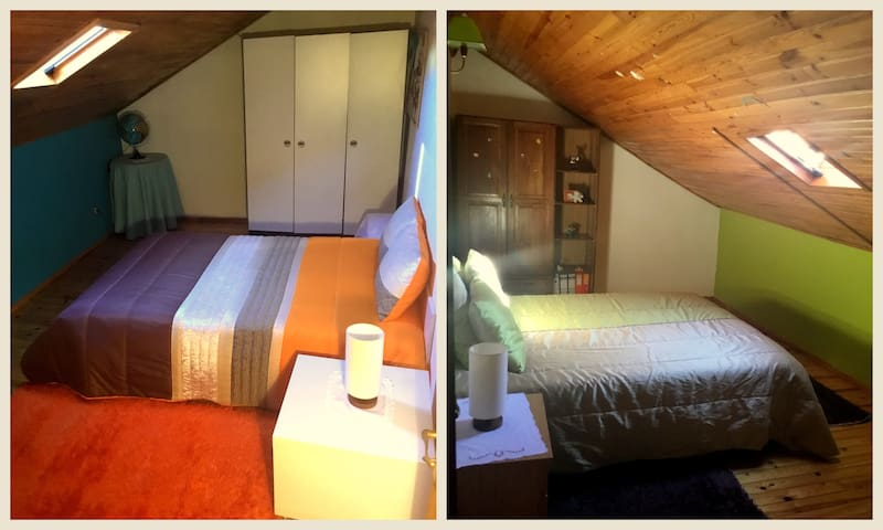 2x Double Bed Room