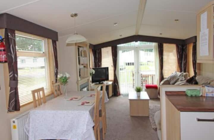 Perfect holiday home at Hoburne Bashley New Forest
