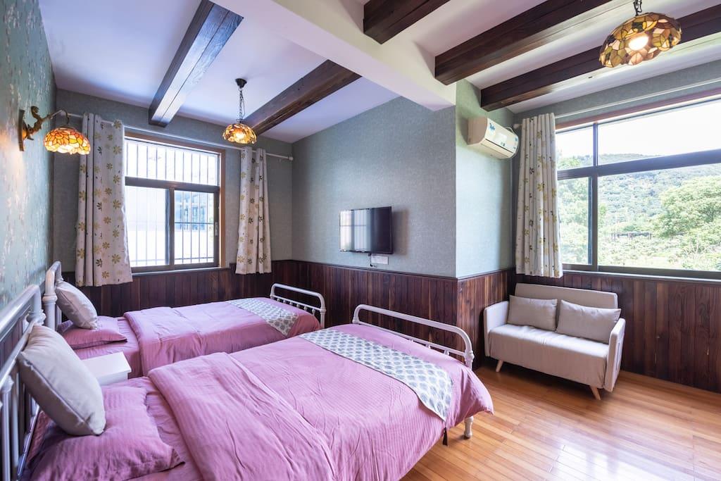 田园房卧室