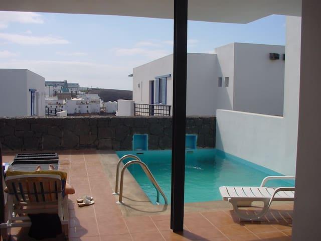 lanzarote playa blanca  children friendly house - Playa Blanca - Huis