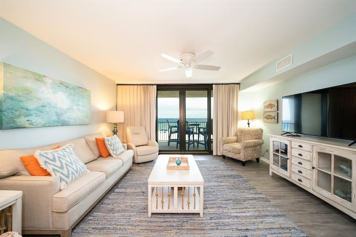 Wind Drift 209--Newly Renovated Beach Front Condo 2Bed/2Bath