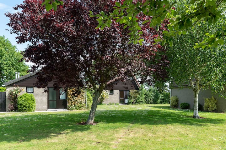 Pleasant home in a small holiday park, 700 metres from the beach