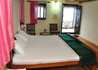double bedded himalaya facing rooms.