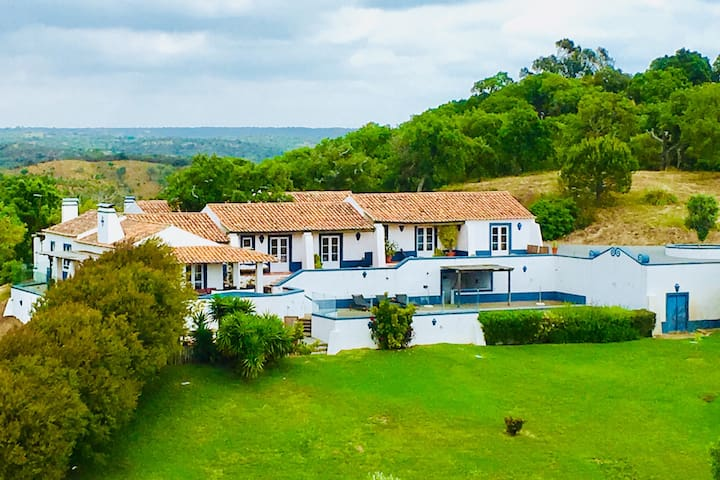 Alentejo Country House pool & tennis, near beaches