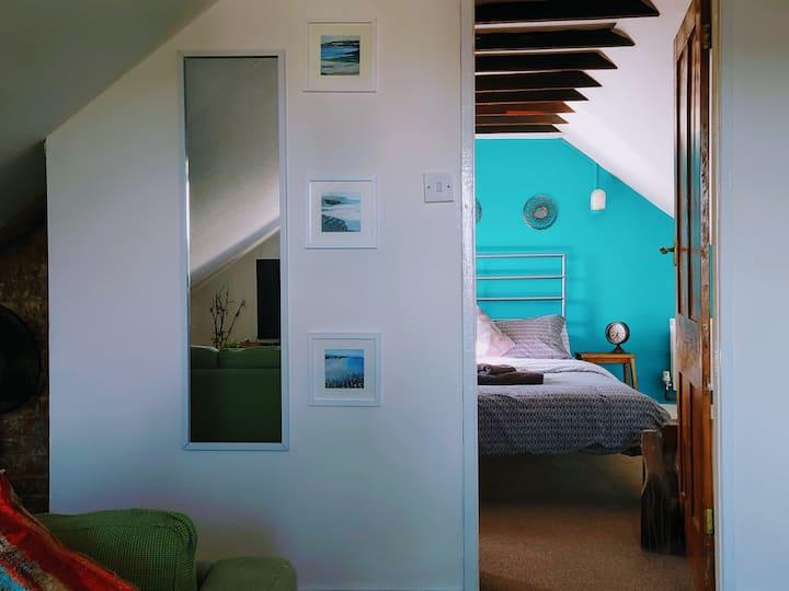 The entire top floor, space, comfort, sleep